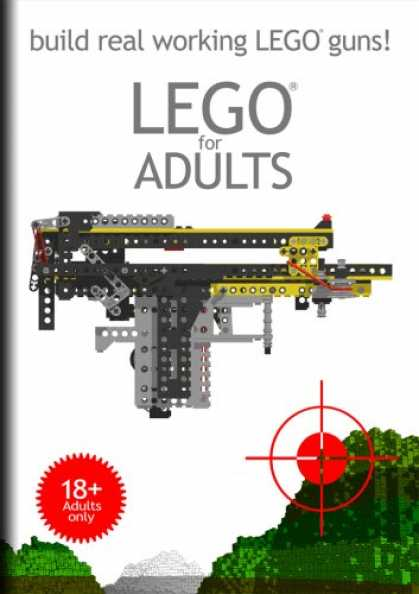 Bestselling Magazines (2008) - Lego for Adults - build real working LEGO guns