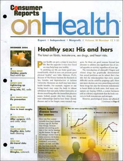 Bestselling Magazines (2008) - Consumer Reports On Health