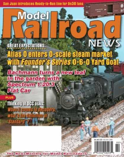 Bestselling Magazines (2008) - Model Railroad News