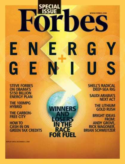 Bestselling Magazines (2008) - Forbes