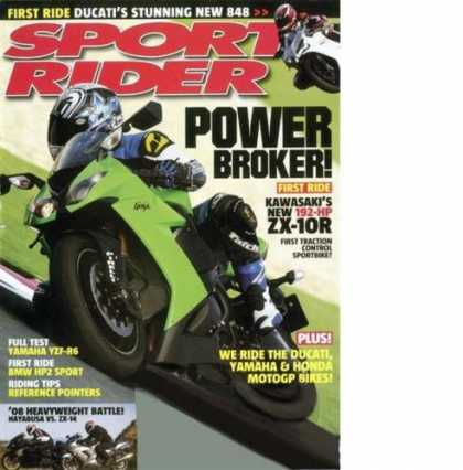 Bestselling Magazines (2008) - Sport Rider