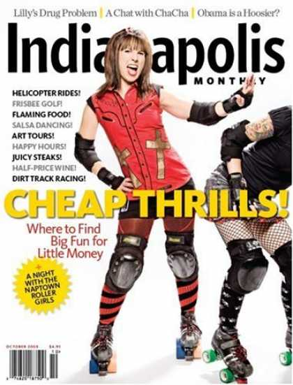 Bestselling Magazines (2008) - Indianapolis Monthly