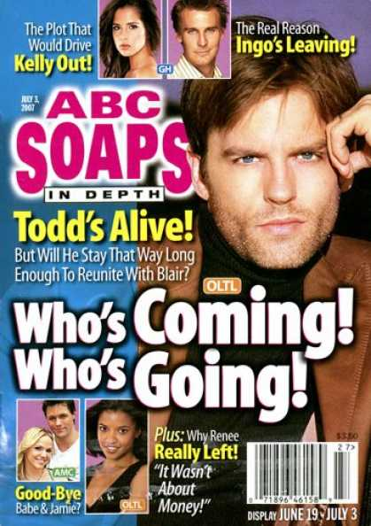 Bestselling Magazines (2008) - ABC Soaps in Depth