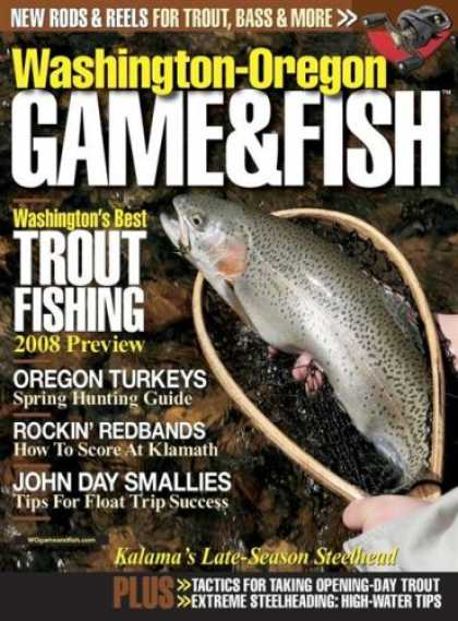 Bestselling Magazines (2008) - Washington-Oregon Game & Fish