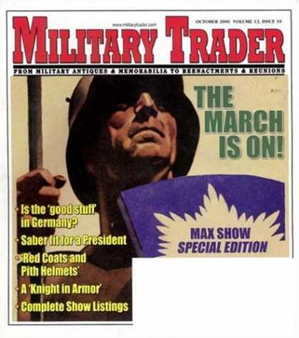 Bestselling Magazines (2008) - Military Trader