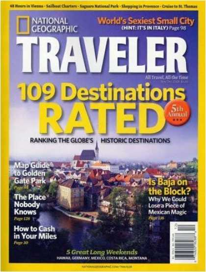 Bestselling Magazines (2008) - National Geographic Traveler