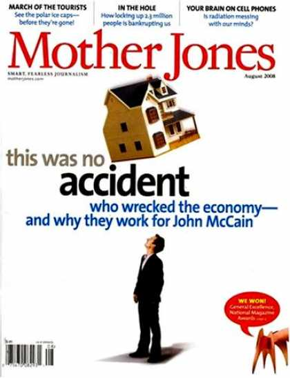 Bestselling Magazines (2008) - Mother Jones