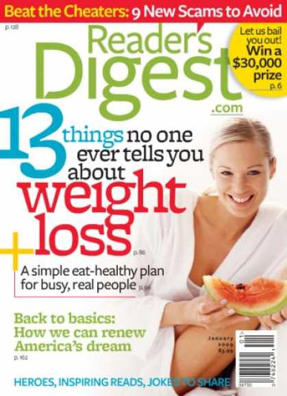 Bestselling Magazines (2008) - Readers Digest - U.S. Edition