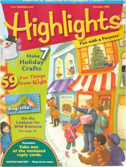 Bestselling Magazines (2008) - Highlights For Children
