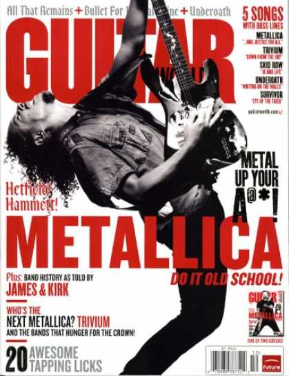 Bestselling Magazines (2008) - Guitar World