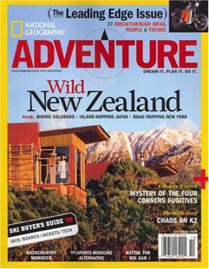 Bestselling Magazines (2008) - National Geographic Adventure