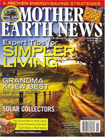 Bestselling Magazines (2008) - Mother Earth News
