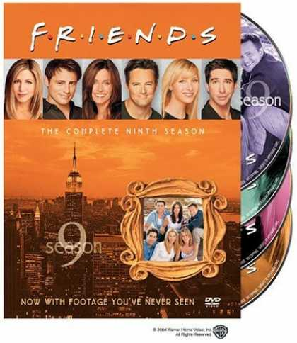 Bestselling Movies (2006) - Friends: The Complete Ninth Season