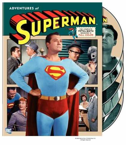 Bestselling Movies (2006) - Adventures of Superman - The Complete Fifth and Sixth Seasons