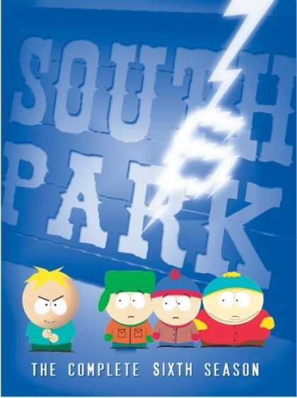 Bestselling Movies (2006) - South Park - The Complete Sixth Season by Trey Parker