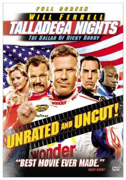 Bestselling Movies (2006) - Talladega Nights: The Ballad of Ricky Bobby (Unrated Fullscreen Edition)
