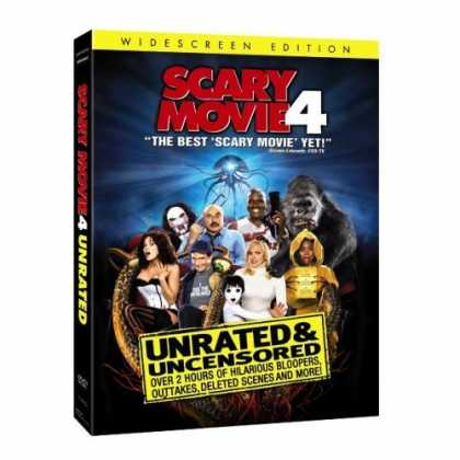 Bestselling Movies (2006) - Scary Movie 4 (Unrated Widescreen Edition)