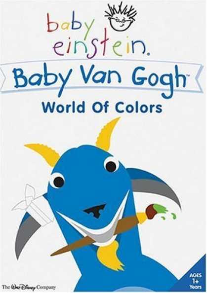 Bestselling Movies (2006) - Baby Einstein - Baby Van Gogh - World of Colors