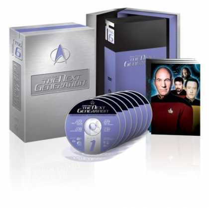 Bestselling Movies (2006) - Star Trek The Next Generation - The Complete Sixth Season by David Carson