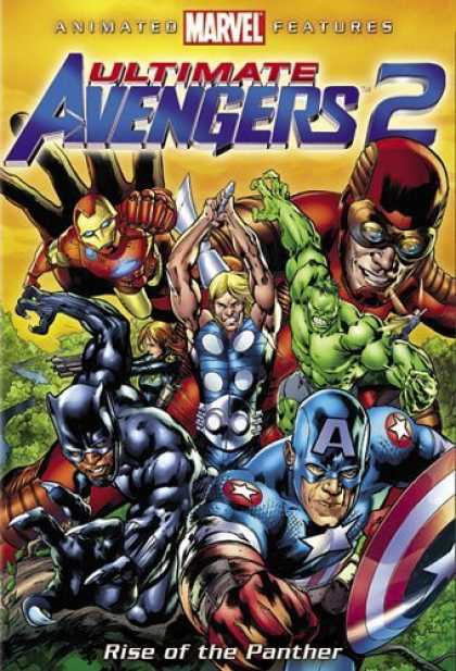 Bestselling Movies (2006) - Ultimate Avengers 2 by Bob Richardson