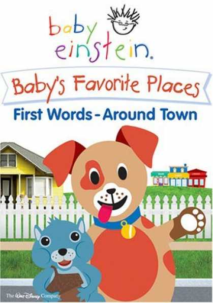 Bestselling Movies (2006) - Baby Einstein - Baby's Favorite Places - First Words Around Town