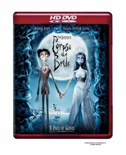 Bestselling Movies (2006) - Tim Burton's Corpse Bride [HD DVD]