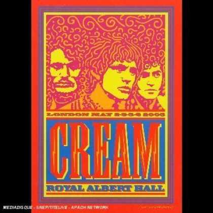 Bestselling Movies (2006) - Cream - Royal Albert Hall - London May 2-3-5-6 2005 by Martyn Atkins