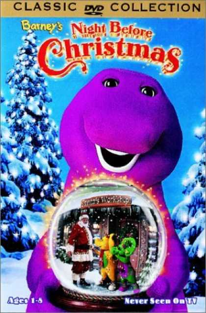 Bestselling Movies (2006) - Barney's Night Before Christmas