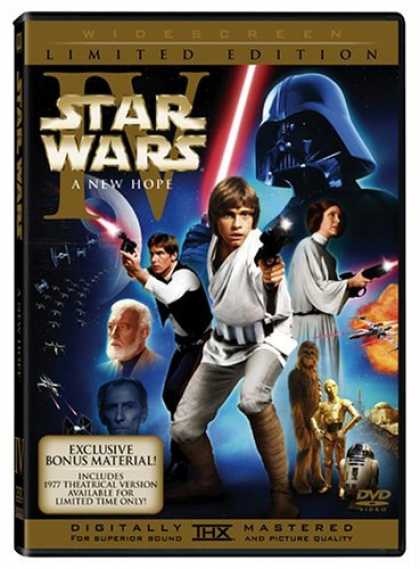 Bestselling Movies (2006) - Star Wars Episode IV - A New Hope (1977 & 2004 Versions, 2-Disc Widescreen Editi