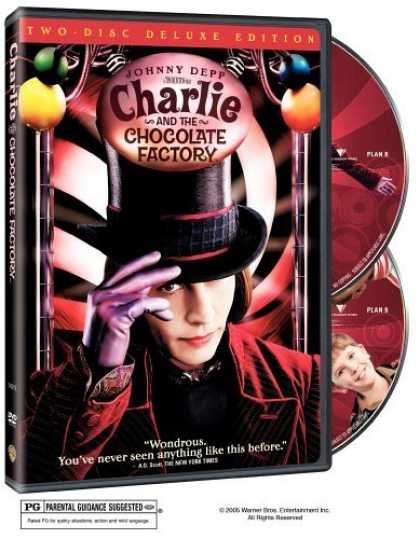 Bestselling Movies (2006) - Charlie and the Chocolate Factory (Two-Disc Deluxe Edition) by Tim Burton