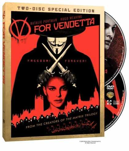 Bestselling Movies (2006) - V for Vendetta (Widescreen Two-Disc Special Edition) by James McTeigue