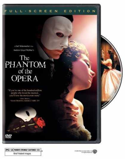 Bestselling Movies (2006) - The Phantom of the Opera (Full Screen Edition) by Joel Schumacher