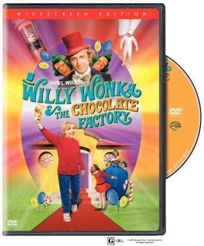Bestselling Movies (2006) - Willy Wonka & the Chocolate Factory (Widescreen Special Edition) by Mel Stuart