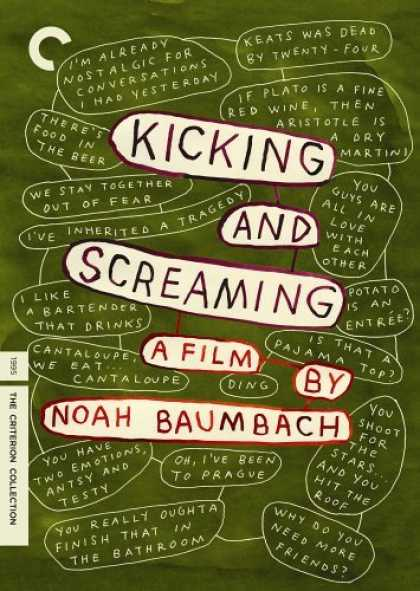 Bestselling Movies (2006) - Kicking & Screaming - Criterion Collection