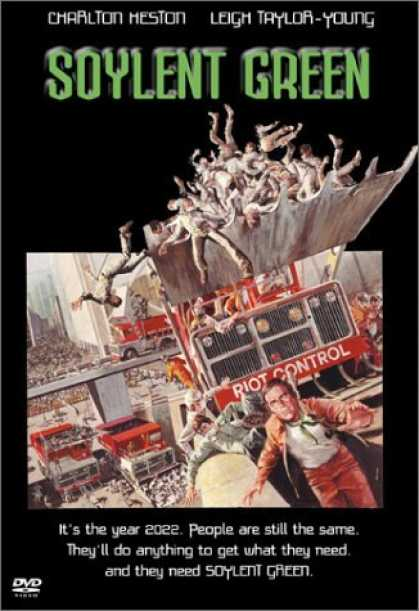 Bestselling Movies (2006) - Soylent Green by Richard Fleischer