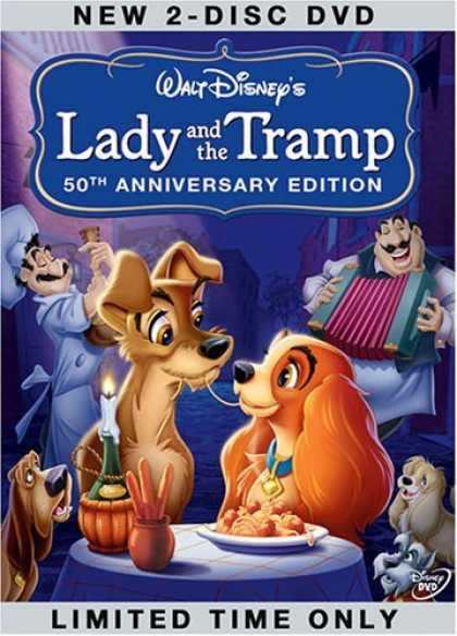 Bestselling Movies (2006) - Lady and the Tramp (50th Anniversary Edition) by Clyde Geronimi