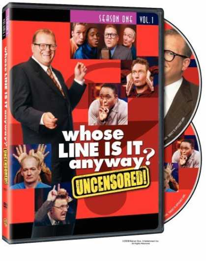 Bestselling Movies (2006) - Whose Line Is It Anyway? - Season 1, Vol. 1 (Uncensored) by Arthur Forrest