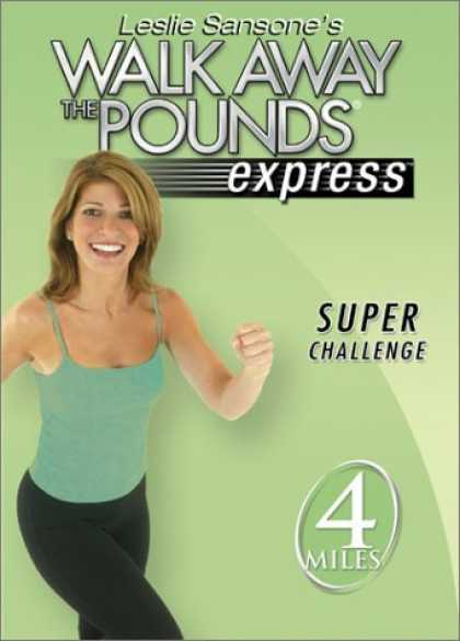 Bestselling Movies (2006) - Leslie Sansone - Walk Away the Pounds Express - Super Challenge