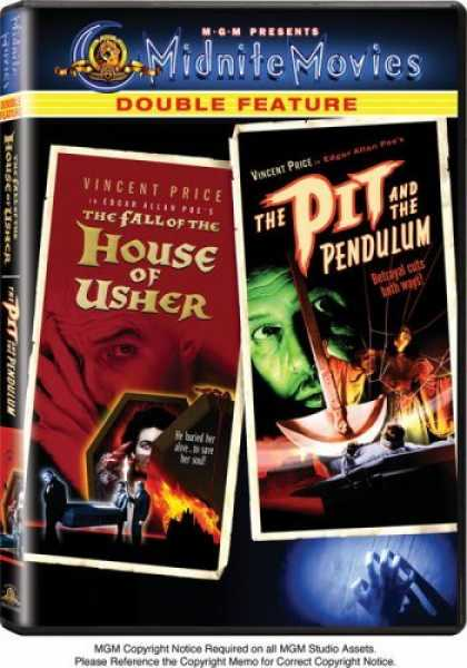 Bestselling Movies (2006) - The Fall of the House of Usher /The Pit and the Pendulum by Roger Corman