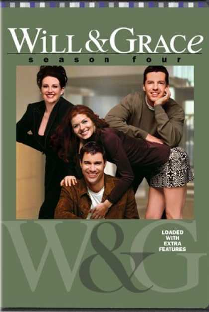 Bestselling Movies (2006) - Will & Grace - Season Four (2001) by James Burrows (II)