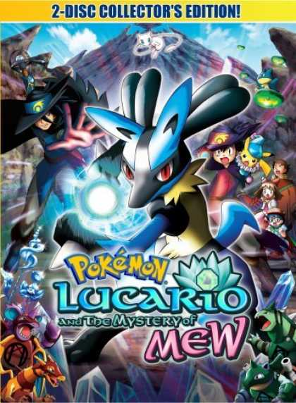 Bestselling Movies (2006) - Pokemon Movie 8 - Lucario and The Mystery of Mew