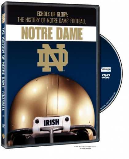 Bestselling Movies (2006) - Echoes of Glory: The History of Notre Dame Football