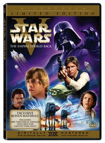 Bestselling Movies (2006) - Star Wars Episode V - The Empire Strikes Back (1980 & 2004 versions, 2-Disc Wide