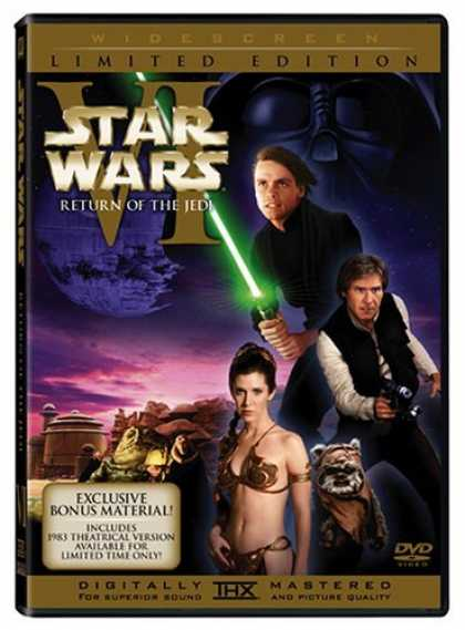 Bestselling Movies (2006) - Star Wars Episode VI - Return of the Jedi (1983 & 2004 versions, Two-Disc Widesc