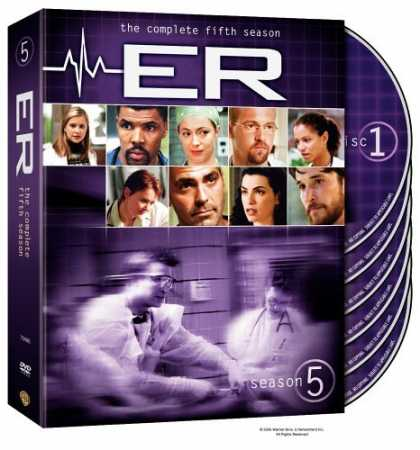 Bestselling Movies (2006) - ER - The Complete Fifth Season by Brett Fallis
