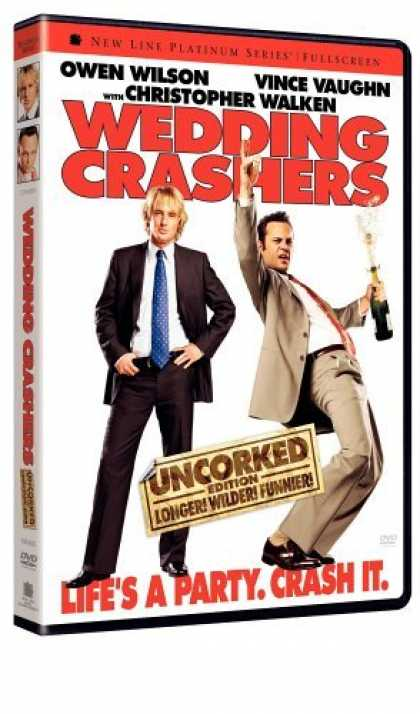 Bestselling Movies (2006) - Wedding Crashers - Uncorked (Unrated Full Screen Edition) by David Dobkin