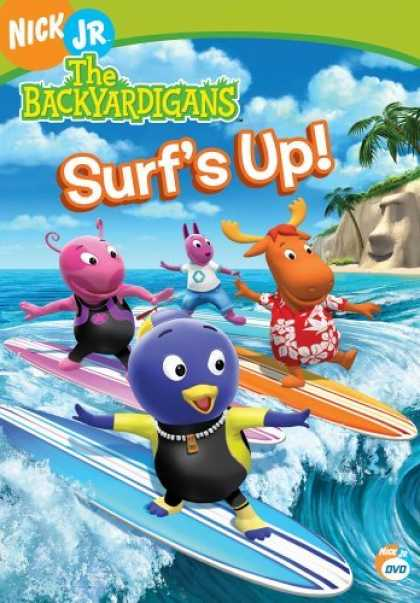 Bestselling Movies (2006) - The Backyardigans - Surf's Up! by Dave Palmer (III)