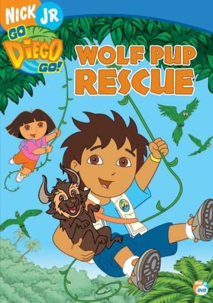 Bestselling Movies (2006) - Go Diego Go! - Wolf Pup Rescue