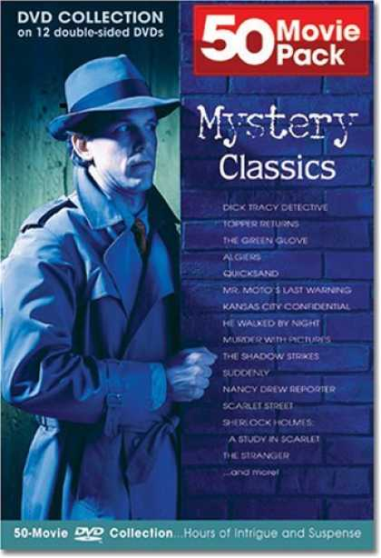 Bestselling Movies (2006) - Mystery Classics 50 Movie Pack Collection