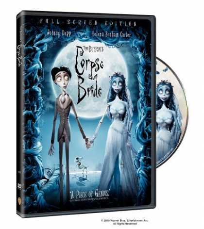 Bestselling Movies (2006) - Tim Burton's Corpse Bride (Full Screen Edition) by Mike Johnson
